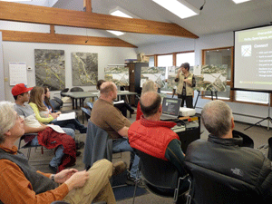 Parks and Spaces meeting, March 21, 2014
